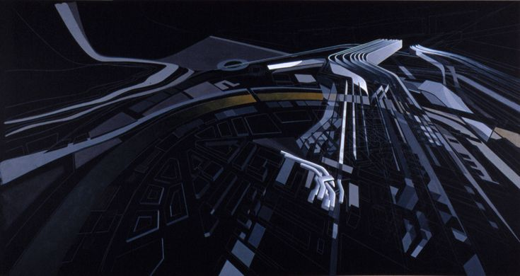 Gallery of The Creative Process of Zaha Hadid, As Revealed Through Her Paintings - 28