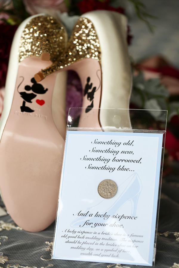 Sixpence In Shoe Wedding