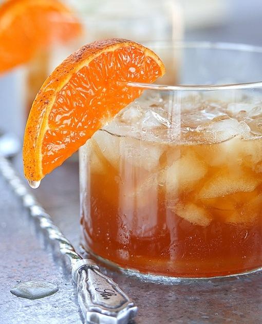 gin juice cocktail gin honey tangerine juice pimm. Black Bedroom Furniture Sets. Home Design Ideas