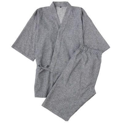 麻綿くつろぎ甚平 紳士S・ネイビー | 無印良品ネットストア