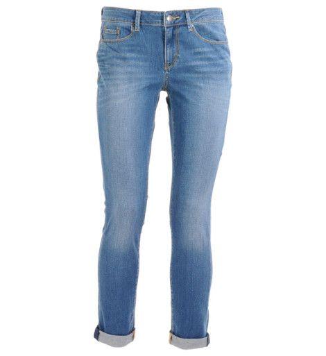 EspritJeans à revers  skinny Bleu