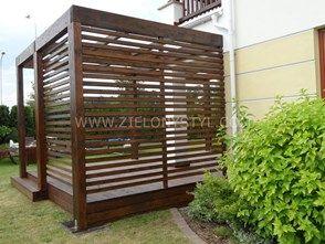 Pergola nowoczesna - zdjęcie od Zielony Styl -Projektowanie, realizacja ogrodów