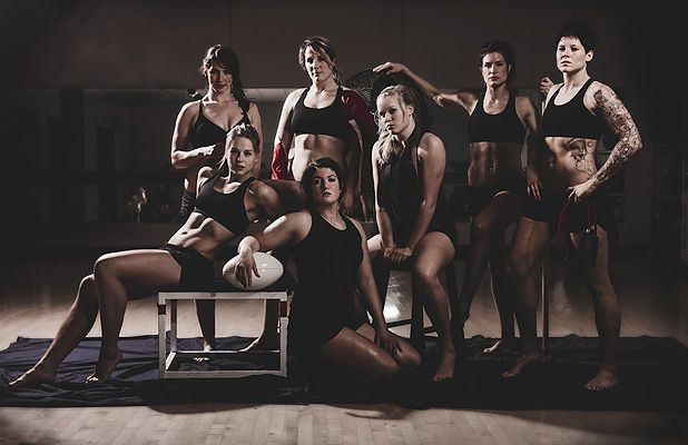 Forwards_Canadian Women's Rugby team #rugby #woman