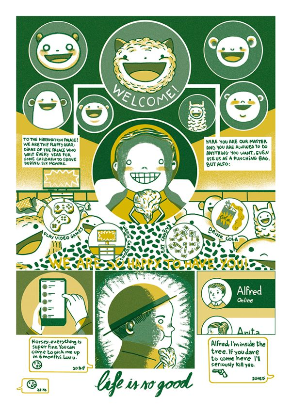 Toast Zine #3 on Behance by Cristina Daura