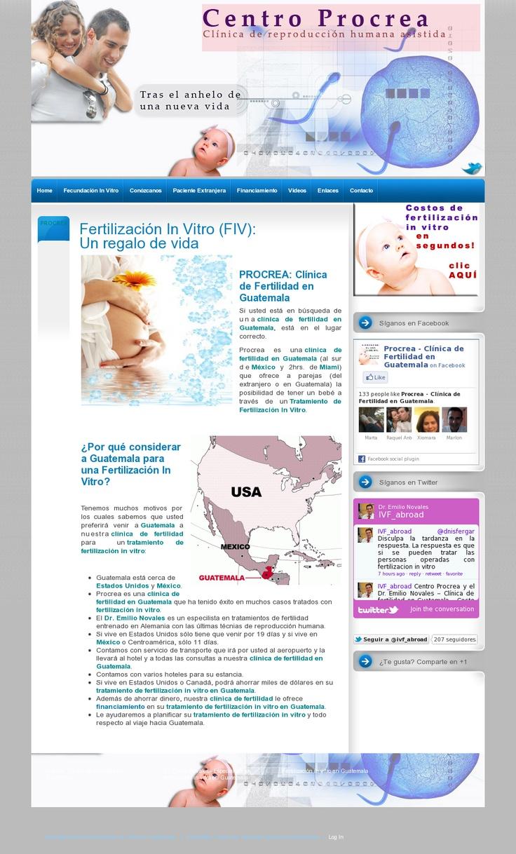 Centro Procrea, clínica de fertilidad en Guatemala: 'http://fertilizacion-in-vitro-guatemala.angelsabroad.com/'