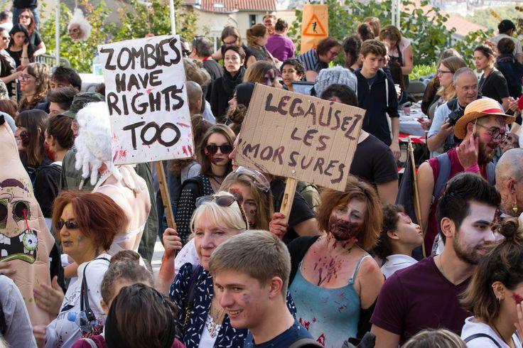 https://flic.kr/p/YRtqEg   Zombie Walk - Revolutions!   Esplanade de la Grande-Côte, Lyon