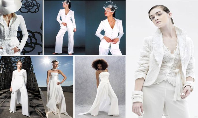 wedding trends the bridal suit my inspired wedding by wedalert