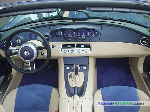 Alpina Roadster V8 (BMW Z8). #windscreen #winddeflector http://www.windblox.com/ #bmwz8