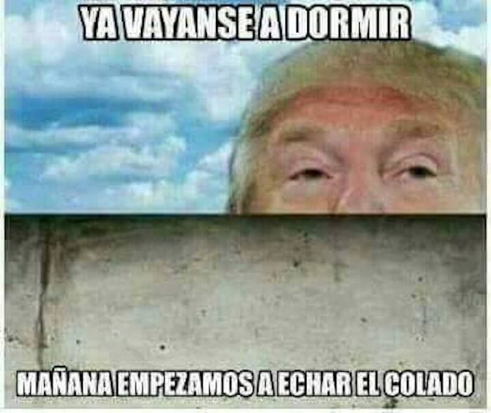 La victoria de Donald Trump desata lluvia de MEMES sobre la construcción del muro