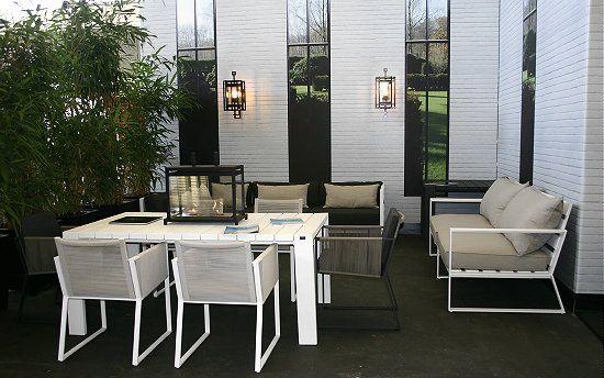 Marcel Wolterinck's garden furniture for Borek