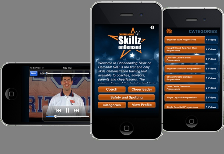 Available on iTune. Skillz On Demand is the first and only cheer-leading on-demand skills education and training tool to learn proper and safe skill techniques. http://itunes.apple.com/app/id507762062?mt=8 Available on iTune  #iOS5 #iOS6 #iPhone #iPAD