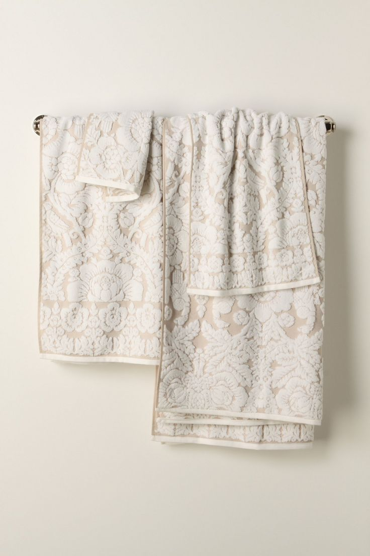 Some New Bath Towels Perpetual Blooms Towels