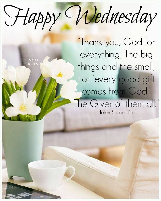 Good Morning, Happy Wednesday Pictures, Photos, and Images ...