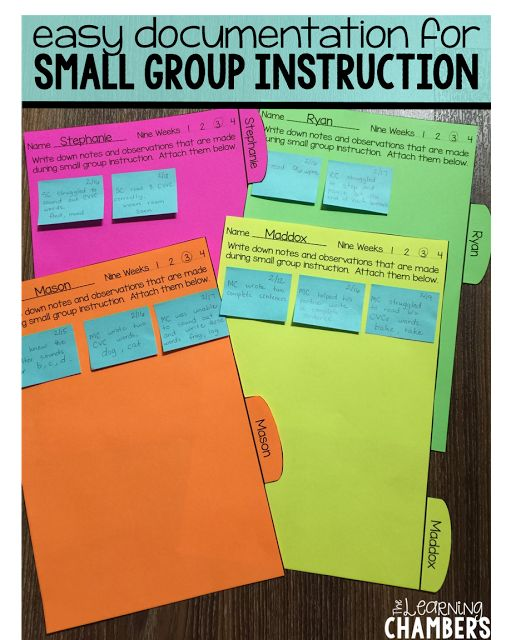The Elementary Entourage: Making the Most of Small Group Instruction {with The Learning Chambers}