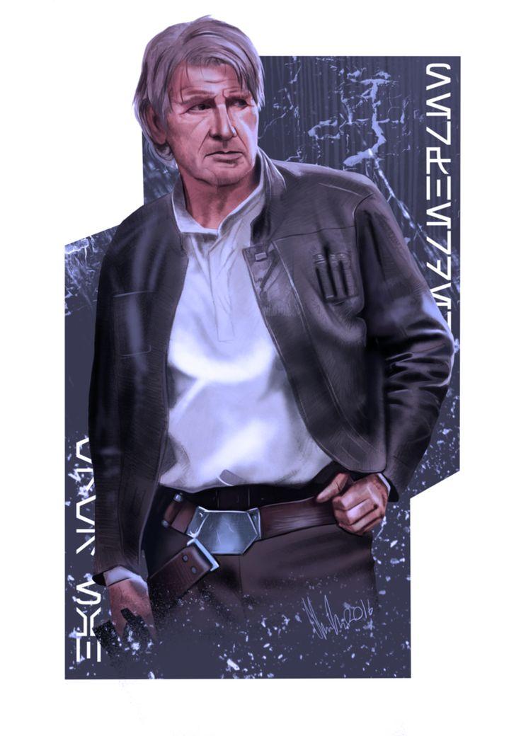Star Wars (Harrison Ford - Han Solo) (Star Wars: Episode VII - The Force Awakens / Star Wars: Episode VII - Das Erwachen der Macht) (2015)