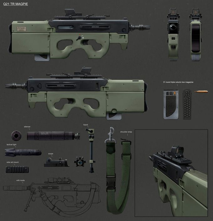 Inspirational Weaponry Concept Designs By 39 Talented Artists