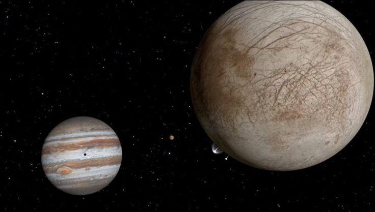 La Nasa a découvert des gerbes d'eau sur Europe, le satellite de Jupiter