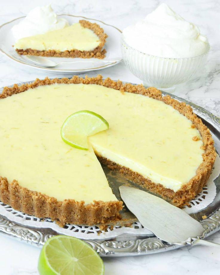 Key Lime pie – Lindas Bakskola