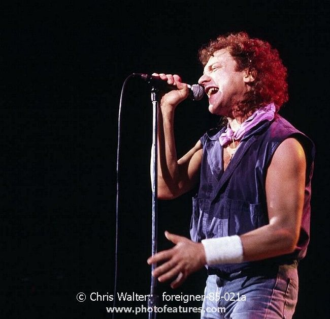 Foreigner Nov 10, 1985, The Summit photography by © Chris Walter