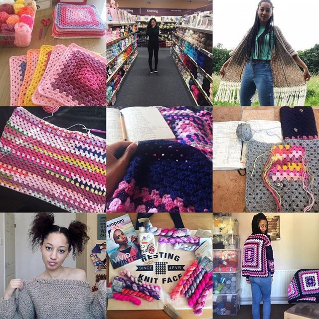 2018! What a year. Elevation. All time ultimate lows. Blessings. Perspective. Growth. A solo trip to #EYF and making a yarn friend for life. Finally getting to Yarndale. The year of making wearables and the year of designing my own! Launching Patron. Testing patterns. Seeing the HGDC YouTube tribe grow. Here are my top nine pictures of 2018. A pretty great summary. Its been one hell of a ride and here I am standing tall smiling with pride a strong relationship with JC and His Father and sweet anticipation for all that 2019 will bring. Simplifying life. God. Yarn. Adventures. Thank you to each and everyone of you for the steps youve accompanied me on this year. This little community is a huge source of comfort and inspiration which is priceless. Wishing you all a blessed and soulful 2019. See you on the other side.  #HGDesignsCrochet #HGDC #TopNine #LikersGonnaLike #CreativeCommunity #MeMade #HandMadeWardrobe #CrochetDesigner #KnitwearDesigner #CrochetIsBae #Elevation #TribeLove