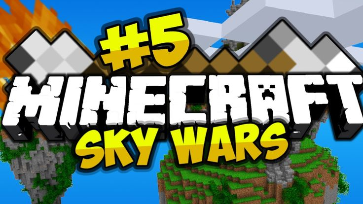 Sky wars minecraft#5(скай варс майнкарфт)1.5.2+ip