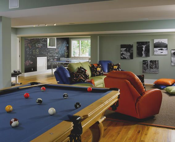138 best pool table room ideas images on pinterest - Family game room ideas ...