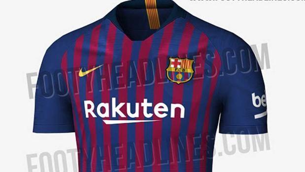 Así es la camiseta del Barça para la próxima temporada http://www.abc.es/deportes/futbol/abci-camiseta-barca-para-proxima-temporada-201801021149_noticia.html