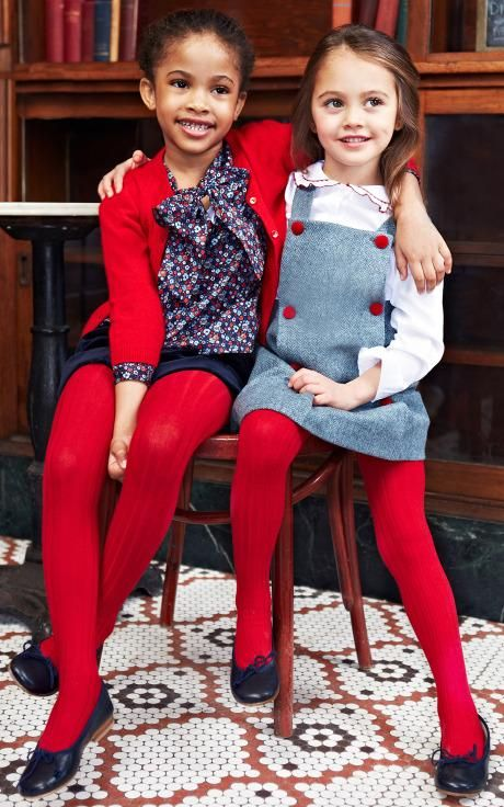 Oscar de la Renta Childrenswear Fall/Winter 2014 Trunkshow Look 1 on Moda Operandi