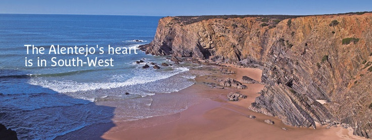 Favorite coast of Portugal, in the South-West ...