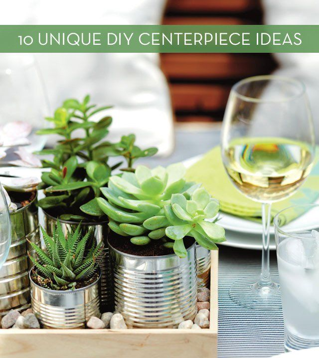 10 Affordable Everyday Centerpieces That You Can Make Yourself CenterpieceEveryday Table DecorPlant