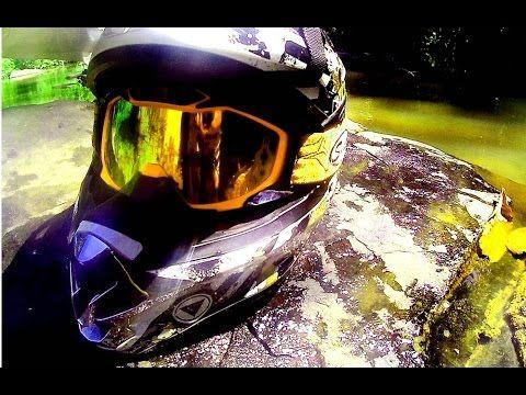 ✔ dirt bike time ★ yamaha scorpio 225 classical motocross style self adv...