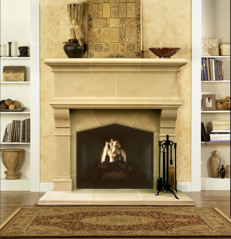 22 best Fireplaces images on Pinterest   Stone fireplaces, Stone ...
