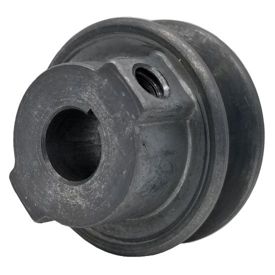 V-Groove Drive Pulley - 1 Bore Cast Iron 7 Dia