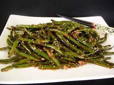 Szechuan Green Beans.