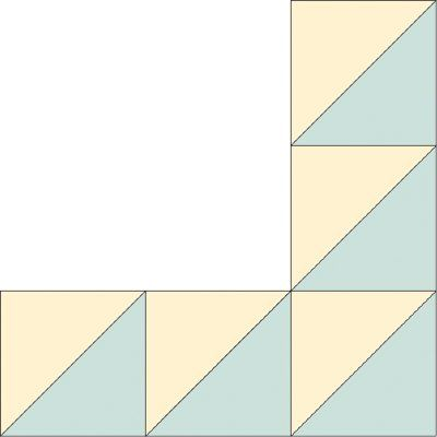 Flying Geese Quilt Borders Image