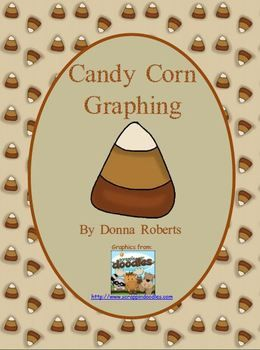 Free Candy Corn Graphing worksheet.