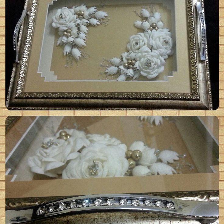 Nişan tepsisi  Bridal tray
