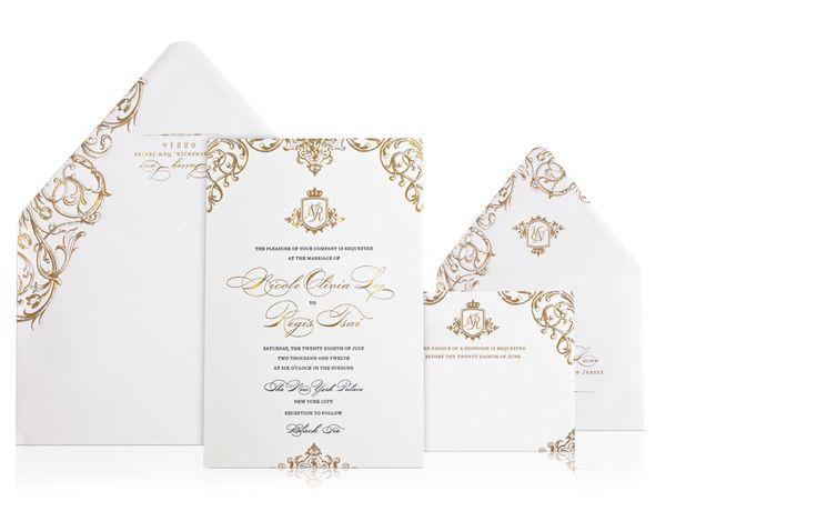 explore luxury wedding invitations