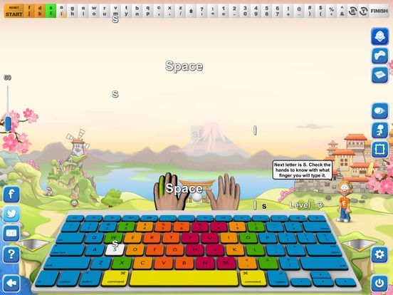 Want an app that makes your children learn and develop keyboarding skills?  Developed with a completely modernized approach towards type-learning and testing your keyboarding skills. Beautifully designed and interactive with attractive background ground are the words to describe the typing game. Now get the typing games for iPad free with the download of unique codes every Friday. Hurry and grab the offer today only!!!.. https://goo.gl/EhSaJu