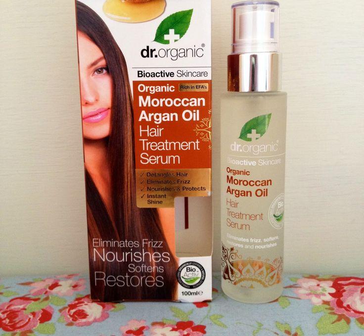 Buy Dr Organic Moroccan Argan Oil Hair Treatment Serum 100ml Online | Organica