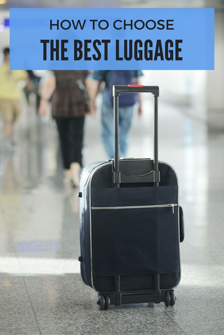 How to choose the best luggage for your next trip. From size to material to cost, there are lots of things to consider when choosing a suitcase.