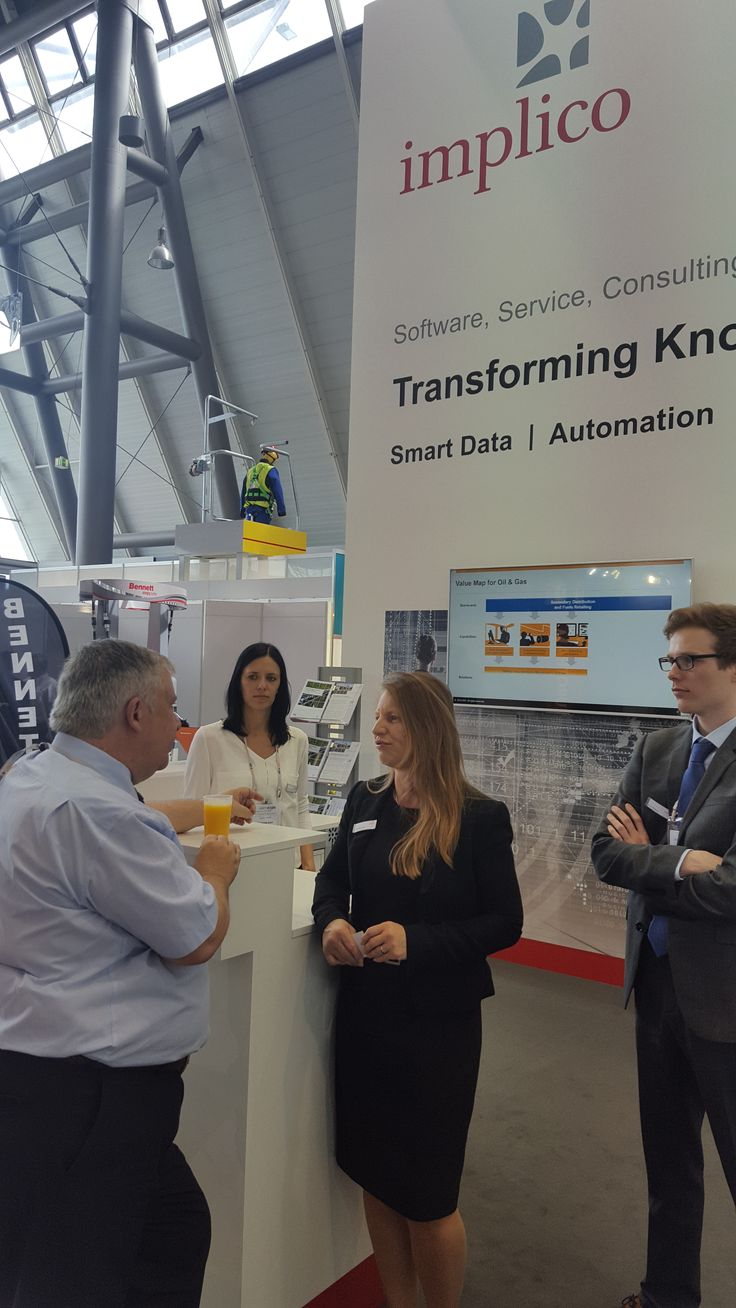 Interesting chat about Implico with David Egan from Petrol World at the UNITI expo 2016.