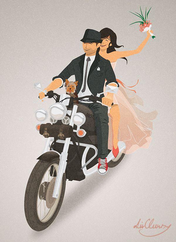 Wedding card - / Dirclumsy
