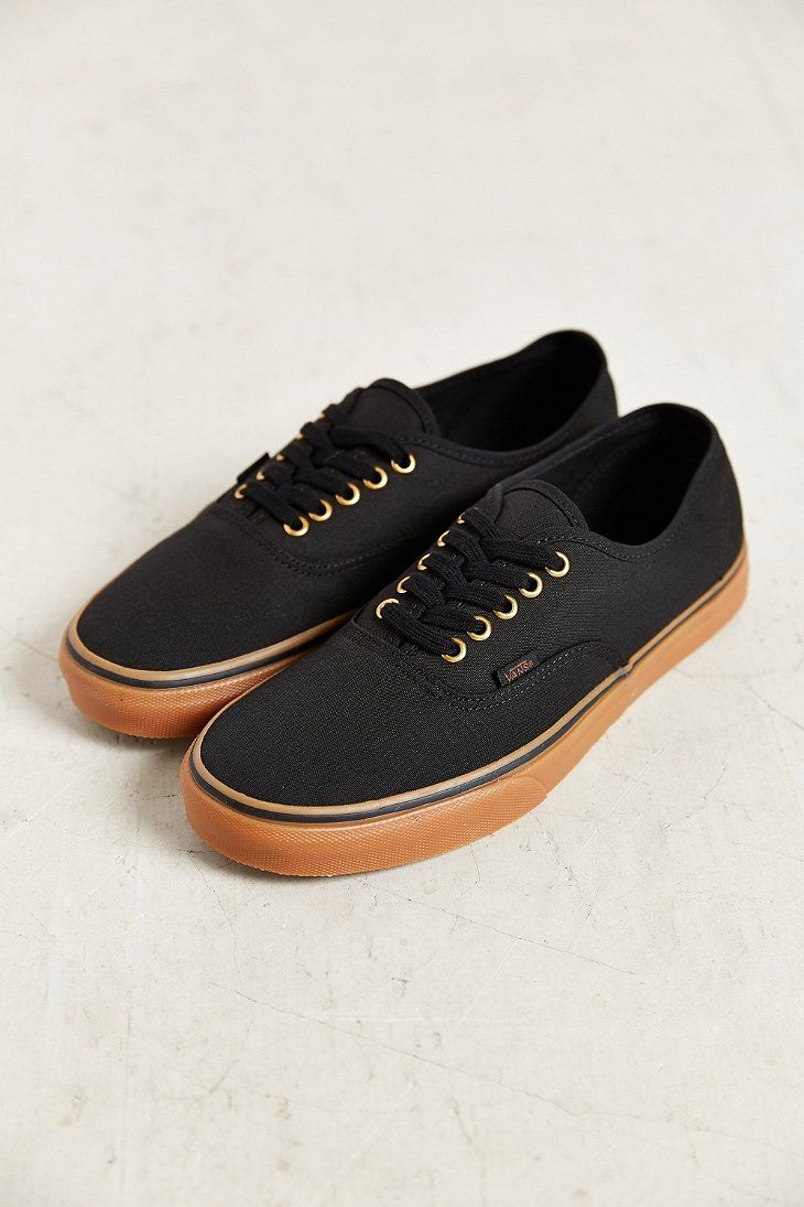 mens black gum sole vans