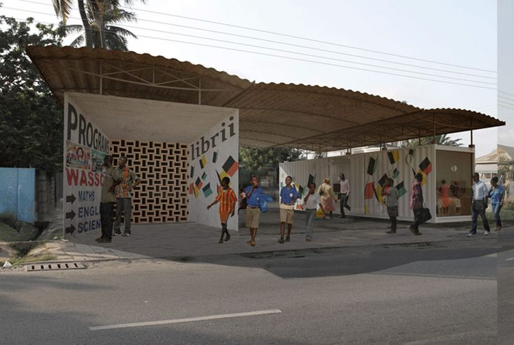 librii: a digitally enhanced shipping container library in africa