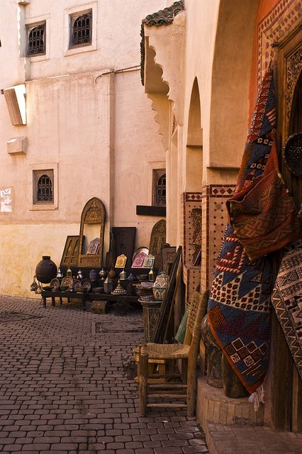 evysinspirations: Tiendas από Jose A. Bejarano στο Flickr.  Μαρακές, Μαρόκο