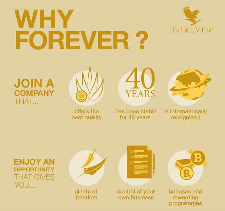 Have you seen the Forever opportunity? Check it out at http://www.foreverliving.com/marketing/Join.do?distribID=630100014318