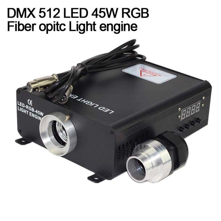 100.00$  Buy now - DMX 512 RGB 45W LED Fiber Optic Engine for all kinds fiber optics  #buyonline