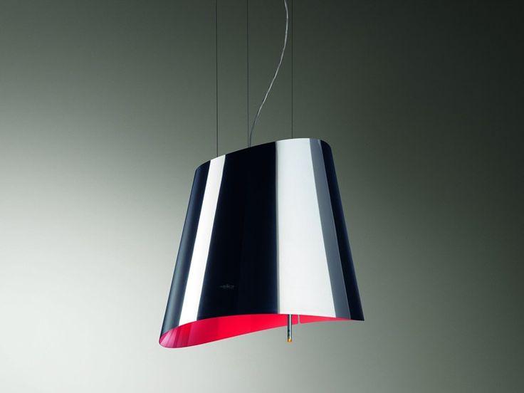 Suspended cooker hood OLA Evolution Collection by Elica | design Elica Design Center