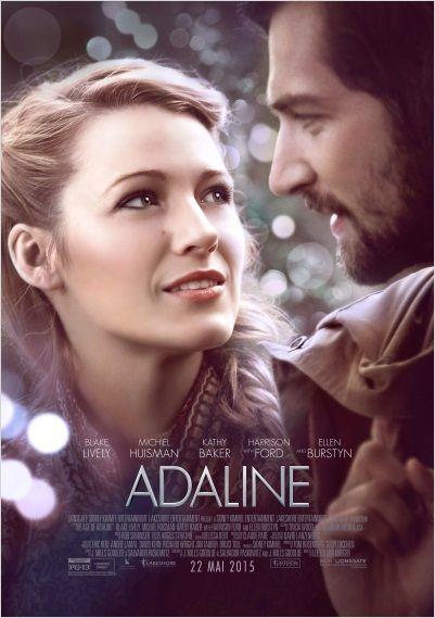 """♥♥♥♥ """"Adaline"""", une romance fantastique de Lee Toland Krieger avec Blake Lively, Michiel Huisman, Harrison Ford... (05/2015)"""